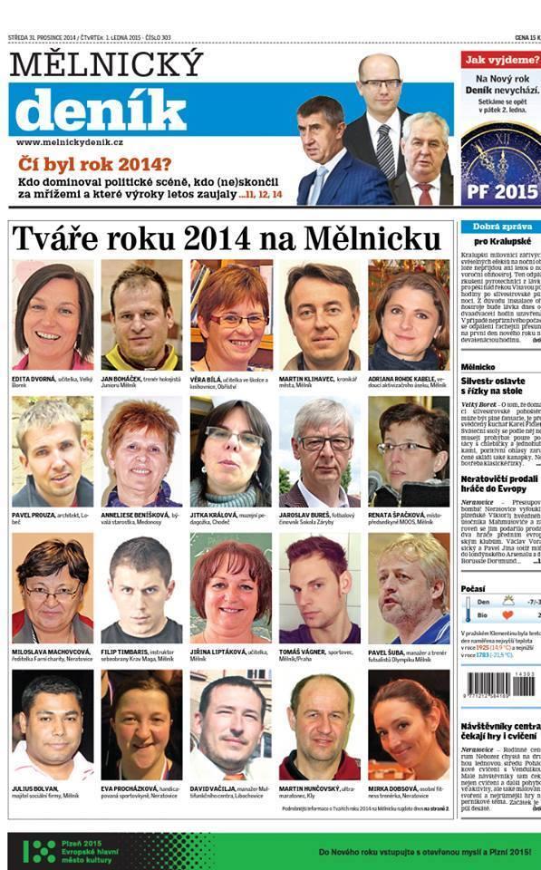 Tváře roku na Mělnicku